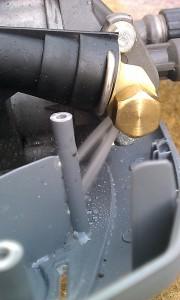 水漏れ箇所